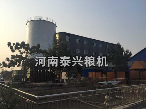 滑县老庙200吨级玉米加工设备