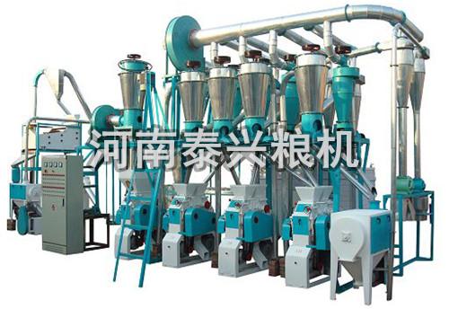 4组面粉机成套设备
