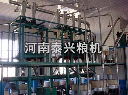 15吨级石磨面粉机组