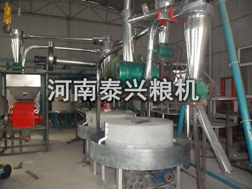 双组石磨面粉机