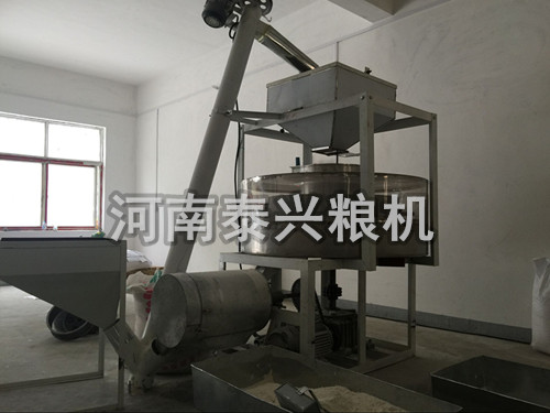 小型全自动石磨面粉机