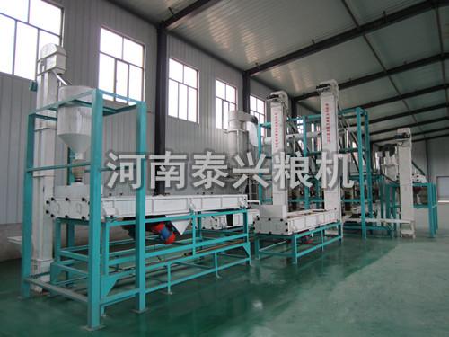 荞麦制米设备