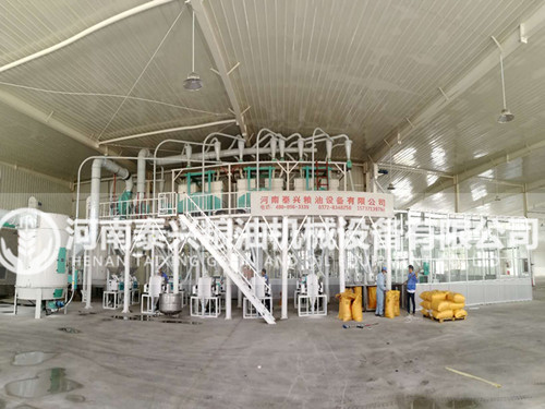 西藏拉萨50吨青稞加工设备安装案例