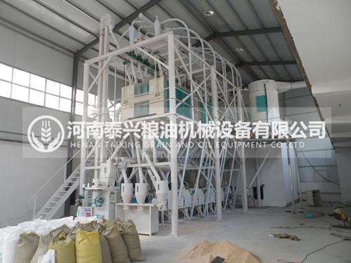 60吨级面粉机设备