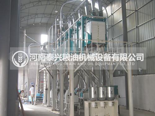 40吨级面粉机械设备