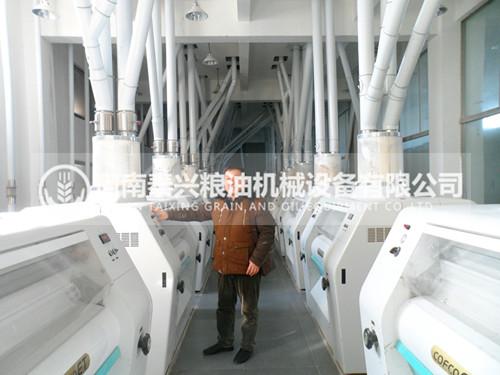 300吨级面粉机组