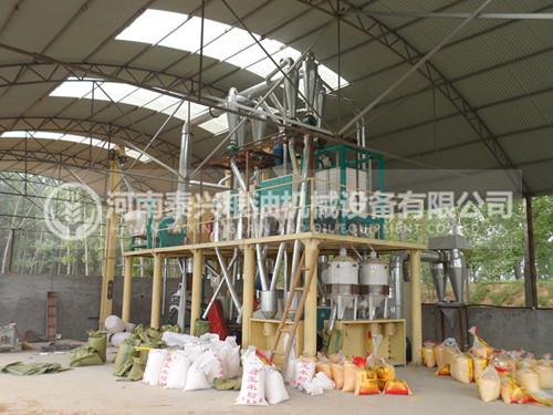 20吨级玉米糁加工设备