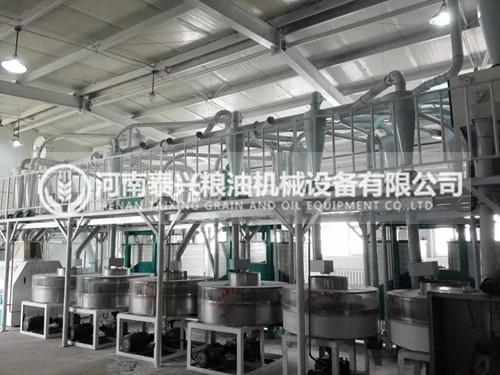 河南泰兴8组石磨面粉机性能优势