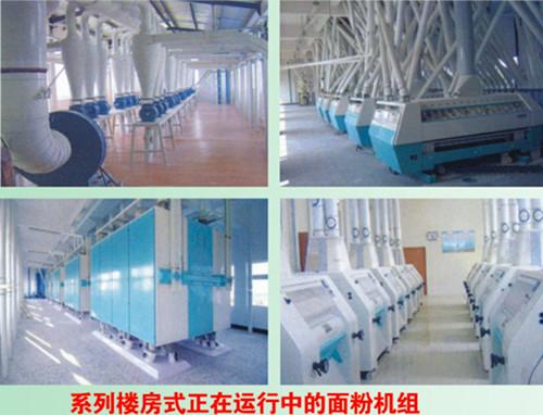 300吨面粉机工艺及设备配置简介